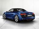 Фото авто Audi R8 1 поколение [рестайлинг], ракурс: 135 цвет: синий