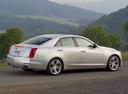 Фото авто Cadillac CTS 3 поколение, ракурс: 225 цвет: серебряный