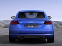 Фото авто Audi TT 8S, ракурс: 180 цвет: синий