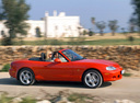 Фото авто Mazda MX-5 NB [рестайлинг], ракурс: 270