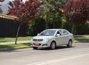 Фото авто Geely MK 1 поколение [рестайлинг], ракурс: 45 цвет: серебряный