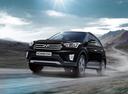 Фото авто Hyundai Creta 1 поколение, ракурс: 45 цвет: черный