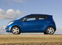 Фото авто Chevrolet Spark M300, ракурс: 90 цвет: синий