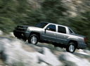 Фото авто Chevrolet Avalanche 1 поколение, ракурс: 45