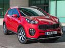 Фото авто Kia Sportage 4 поколение, ракурс: 315 цвет: красный