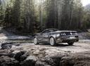 Фото авто Ford Mustang 6 поколение, ракурс: 135 цвет: серый