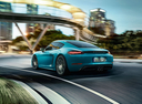 Фото авто Porsche Cayman 982, ракурс: 135 цвет: аквамарин
