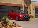 Фото авто Nissan Leaf 2 поколение, ракурс: 315 цвет: красный