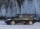Фото авто Nissan Patrol Y62, ракурс: 90 цвет: черный