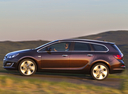 Фото авто Opel Astra J [рестайлинг], ракурс: 90 цвет: коричневый