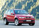 Фото авто BMW X5 E53, ракурс: 315 цвет: вишневый