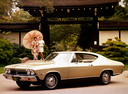 Фото авто Chevrolet Chevelle 2 поколение, ракурс: 45
