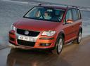 Фото авто Volkswagen Touran 1 поколение [рестайлинг], ракурс: 45