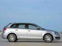 Фото авто Audi A3 8P/8PA [2-й рестайлинг], ракурс: 270 цвет: серебряный