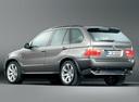 Фото авто BMW X5 E53 [рестайлинг], ракурс: 135 цвет: серый