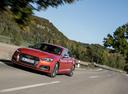 Фото авто Audi S5 2 поколение, ракурс: 45 цвет: оранжевый