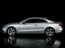 Фото авто Audi A5 8T, ракурс: 90 цвет: серебряный