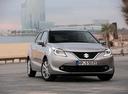 Фото авто Suzuki Baleno 2 поколение, ракурс: 315 цвет: серебряный