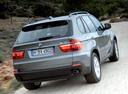 Фото авто BMW X5 E70, ракурс: 225 цвет: серый