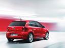 Фото авто Volkswagen Polo 5 поколение, ракурс: 225 цвет: красный