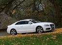 Фото авто Audi A5 8T, ракурс: 270 цвет: белый