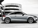Фото авто Audi TT 8J [рестайлинг], ракурс: 270 цвет: серебряный