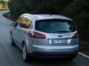 Фото авто Ford S-Max 1 поколение [рестайлинг], ракурс: 180 цвет: серебряный