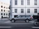Фото авто Volvo V90 2 поколение, ракурс: 90 цвет: серый