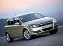 Фото авто Opel Astra H, ракурс: 315 цвет: бежевый