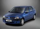Фото авто Renault Logan 1 поколение, ракурс: 45 - рендер цвет: синий