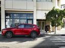 Фото авто Mazda CX-5 2 поколение, ракурс: 90 цвет: красный