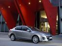 Фото авто Mazda 3 BL [рестайлинг], ракурс: 270 цвет: серебряный