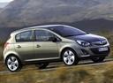 Фото авто Opel Corsa D [рестайлинг], ракурс: 270 цвет: серый