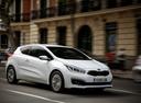 Фото авто Kia Cee'd 2 поколение [рестайлинг], ракурс: 315 цвет: белый