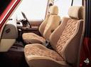 Фото авто Toyota Land Cruiser Prado J70, ракурс: задние сиденья