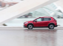 Фото авто Peugeot 2008 1 поколение [рестайлинг], ракурс: 90 цвет: красный