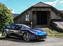Фото авто Ferrari GTC4Lusso 1 поколение, ракурс: 315 цвет: синий