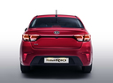 Фото авто Kia Rio 4 поколение, ракурс: 180 - рендер цвет: бордовый