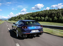 Фото авто Ferrari GTC4Lusso 1 поколение, ракурс: 180 цвет: синий
