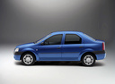 Фото авто Renault Logan 1 поколение, ракурс: 90 - рендер цвет: синий