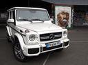 Фото авто Mercedes-Benz G-Класс W463 [2-й рестайлинг], ракурс: 315 цвет: белый