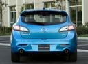 Фото авто Mazda 3 BL, ракурс: 180 цвет: голубой