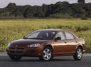 Фото авто Dodge Stratus 2 поколение, ракурс: 45 цвет: коричневый