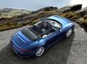 Фото авто Porsche 911 991, ракурс: сверху цвет: синий