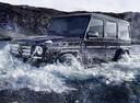Фото авто Mercedes-Benz G-Класс W463 [3-й рестайлинг], ракурс: 45 цвет: черный