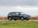 Фото авто Peugeot 5008 2 поколение, ракурс: 315 цвет: зеленый