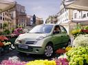 Фото авто Nissan Micra K12, ракурс: 45 цвет: салатовый