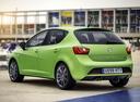 Фото авто SEAT Ibiza 4 поколение [рестайлинг], ракурс: 135 цвет: зеленый