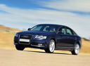 Фото авто Audi A6 4F/C6 [рестайлинг], ракурс: 45 цвет: синий