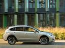 Фото авто Subaru XV 1 поколение [рестайлинг], ракурс: 270 цвет: серебряный